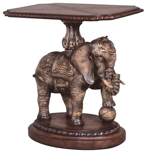 elephant accent table ambella home accent table elephant traditional side