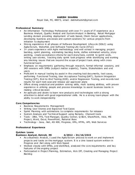 Ba Resume by Harish Sharma Ba Resume 0315efin