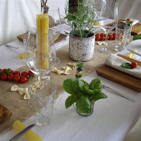 italian decorations for a themed table decoration ideas celebrating italian theme