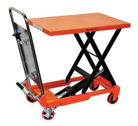 hydraulic lift table cart hydraulic scissor lift table cart 330 lb tf15a