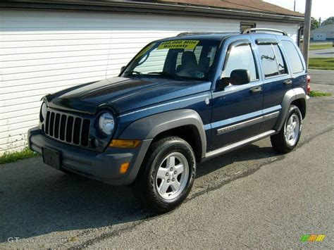 2005 Jeep Patriot 2005 Patriot Blue Pearl Jeep Liberty Sport 4x4 18104436