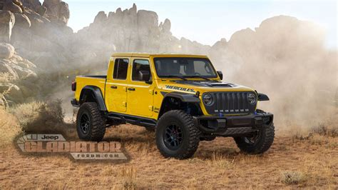2020 Jeep Gladiator Yellow by Report Will There Be A Jeep Gladiator Quot Hercules Quot High