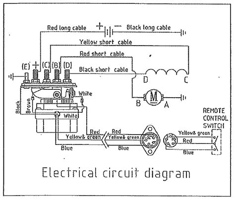warn 9000 lb winch wiring diagram warn 12000 winch wiring