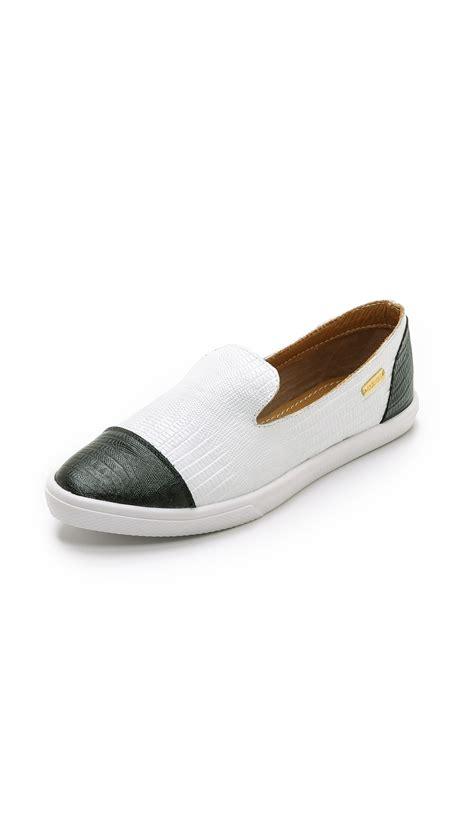 kaanas shoes lyst kaanas senegal pointy toe slip on sneakers white