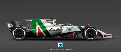 Alfa Romeo F1 by Alfa Romeo Sauber F1 2018 Livrea Ipotesi Foto Derapate