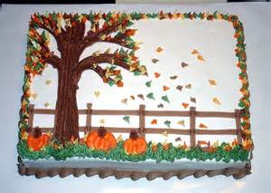 fall cake decorations fall theme cake cake for a thanksgiving at a