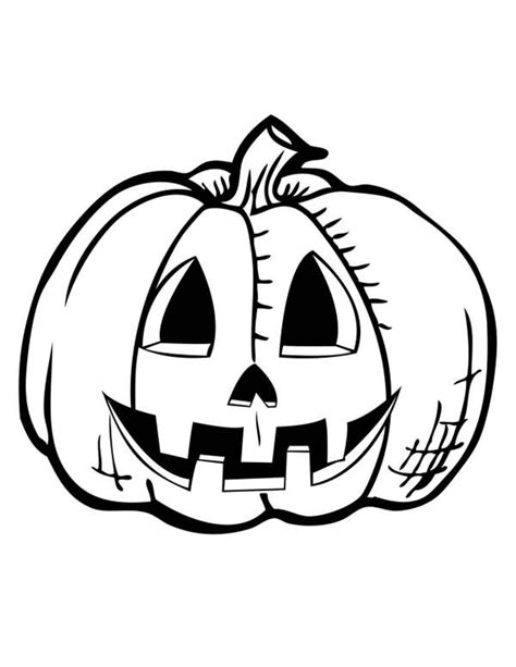 printable jack o lantern to color happy jack o lantern faces coloring home