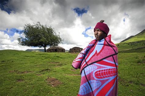 How the Basotho blanket became the brand identity of a nation