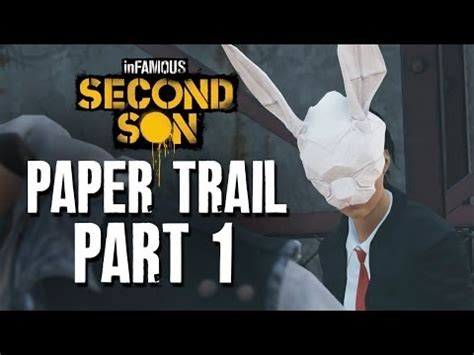 Infamous Second Origami - infamous second paper trail part 1 guide