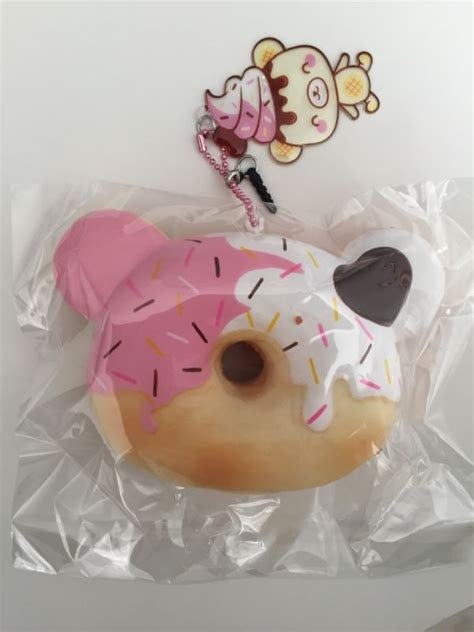 Squishy Creamiicandy Donut by Squishy Donut Shop Collectibles Daily