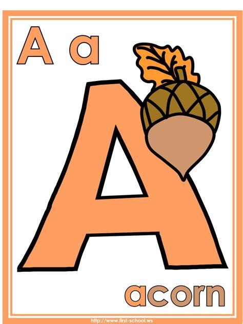 imagenes en ingles con letra u laminas del abecedario letra por letra imagui