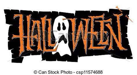 imagenes de halloween letras letras halloween vector mano letras hechaa mano