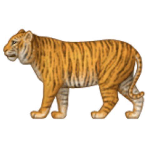 tiger emoji u 1f405