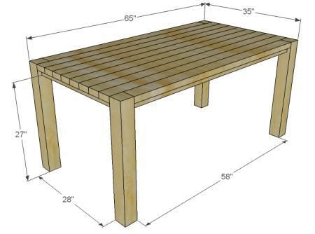 farm bench plans ana white build a big ur farm table and bench free and