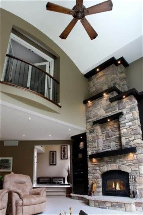 Interior Rock Wall 16 ways to add decor to your vaulted ceilings
