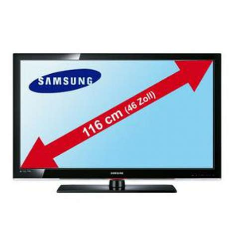 Led Fernseher 46 Zoll 2181 by Samsung 116 Cm 46 Zoll Hd Lcd Tv Le46c530
