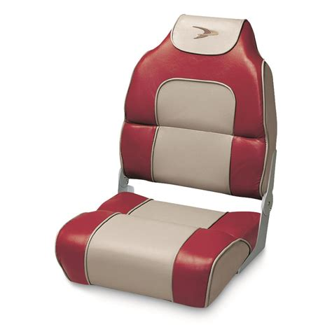 wise deluxe boat seats wise premium deluxe hi back fishing boat seat 140371