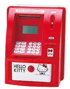 Atm Hellokitty hello minutiae hello atm bank