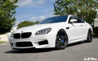 2013 alpine white m6 on matte black hre wheels bmw