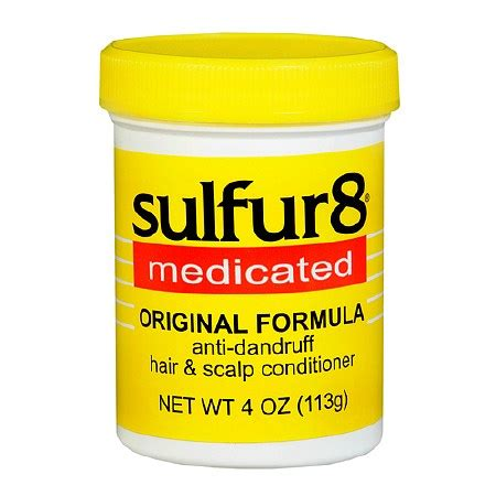 sulfur 8 grease bald spot sulfur8 anti dandruff hair scalp conditioner walgreens