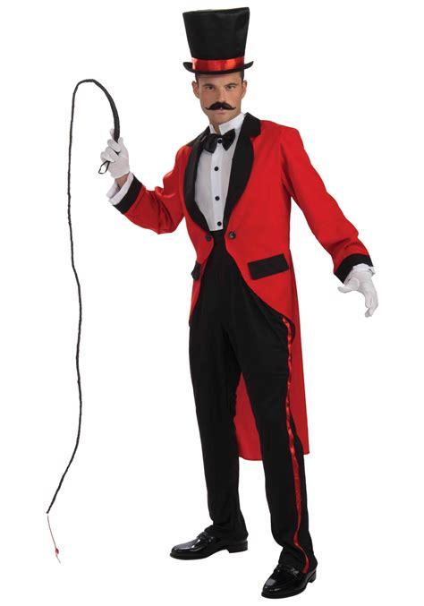 mens ringmaster costume mens circus ringmaster costume adult ring master costumes