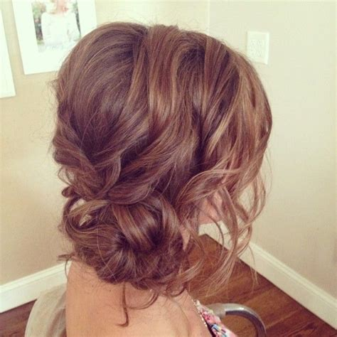 Wedding Hairstyles Bun On The Side by Wedding Hairstyles Curly Side Bun Www Imgkid The
