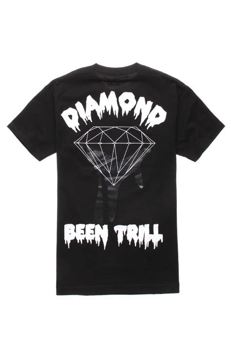 diamond supply co mill tee at pacsun com from pacsun tops been trill x diamond supply co backhit 2 tee pacsun