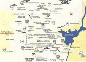 Map Of Las Vegas Area by Las Vegas Area Map