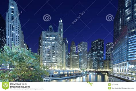 chicago financial district map chicago financial district royalty free stock image