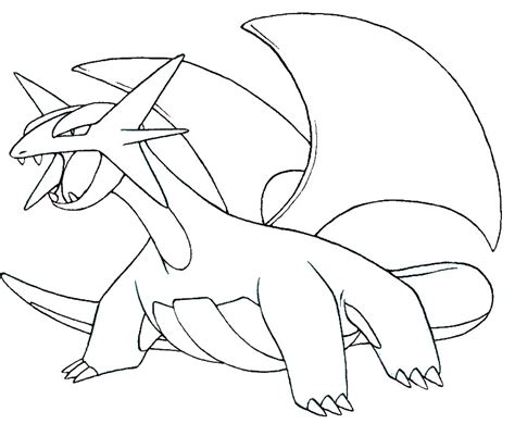 pokemon coloring pages salamence coloring pages pokemon salamence drawings pokemon