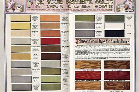 historic exterior house colors vintage exterior color schemes seroco paint 1918 flickr