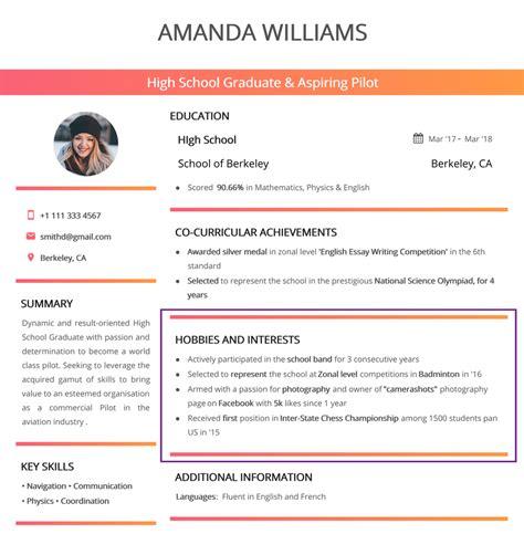 interest resume examples interests on sample extraordinary design
