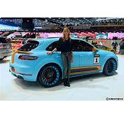 Eye Candy Porsche Macan S Diesel By Hamann  Gulf Oil