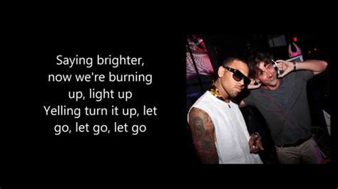 lyrica and chris brown benny benassi ft chris brown paradise lyrics lyric
