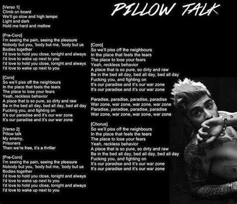 who sang pillow talk zayn pillow talk lyrics search most popular