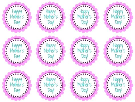 template for cupcake toppers printable blank printable cupcake toppers template