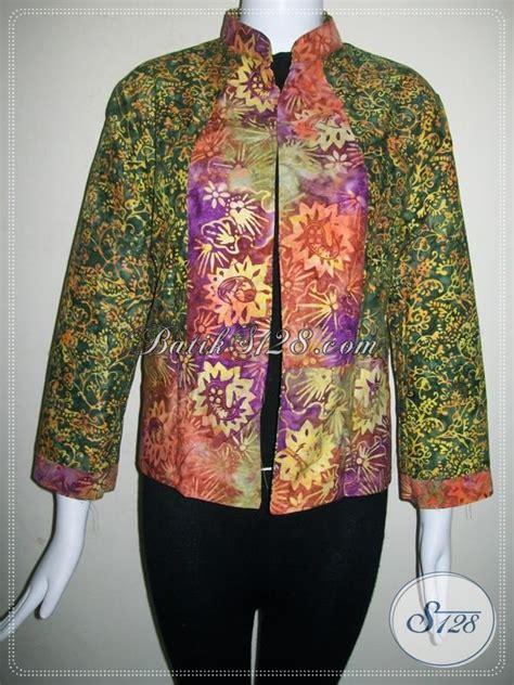 Blazer Batik Bolak Balik batik blazer bolak balik trend wanita metropolitan