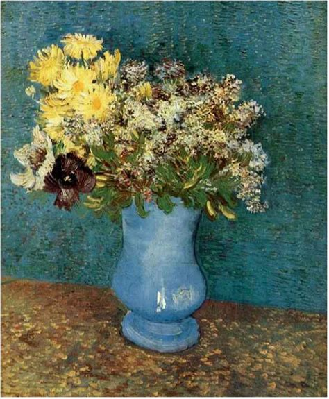 Vincent Gogh Vase by Vincent Gogh Flowers And Floral Paintings