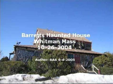 abington haunted house barretts haunted house abington ma october 26 2004 youtube