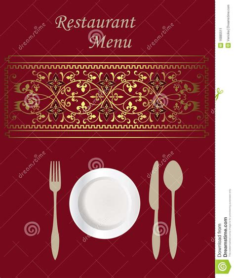 design menu card online menu card design stock vector illustration of cuisine