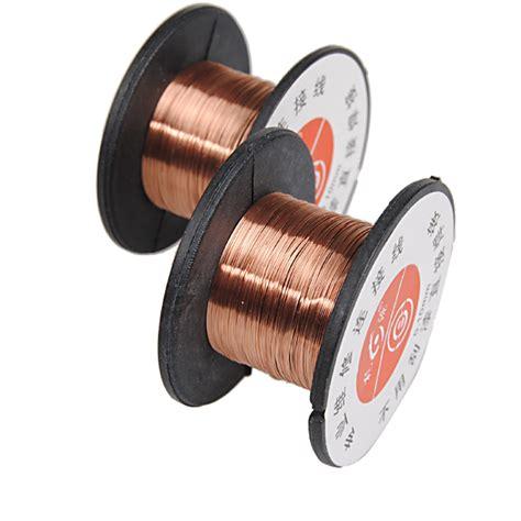 Hdl Copper Soldering Solder Ppa Enamelled Reel Wire Repairnbsp 2pcs 0 1mm weld copper soldering solder ppa enamelled reel