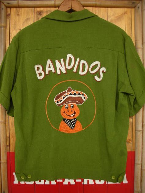 Pomade Banditos 1950 s bandidos bowling shirt sz s rock a hula vintage