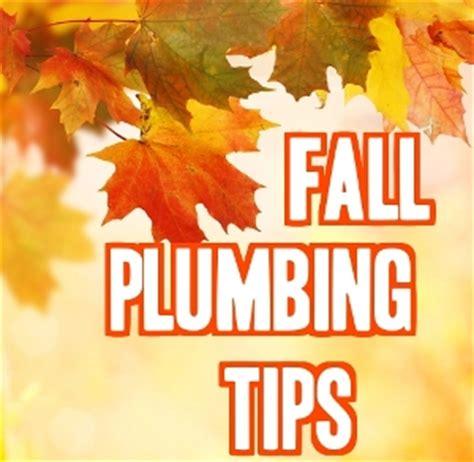 top 5 plumbing tips for fall len the plumber