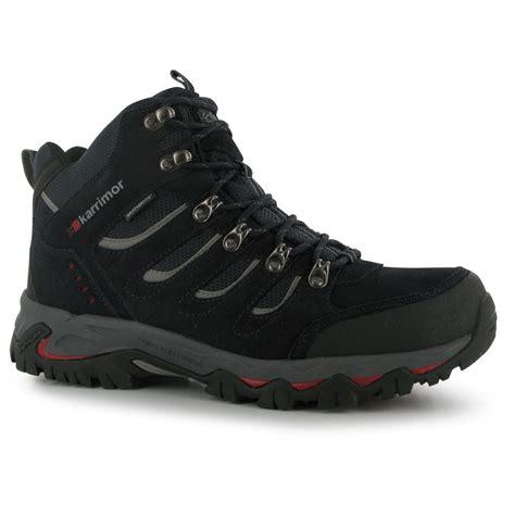 Shoes Mount karrimor mens mount mid walking boots shoes breathable