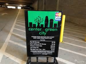 Senter Gree center city green parking in parkme