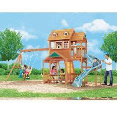 big backyard lexington wood gym set play sets on pinterest swing sets wooden swings and outdoor playset