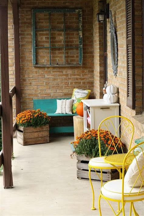 vintage home decor nz cozy front porch with pops of yellow decorazilla design blog