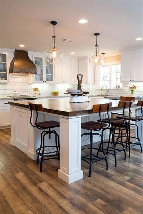 large kitchen island table best 25 square kitchen tables ideas on