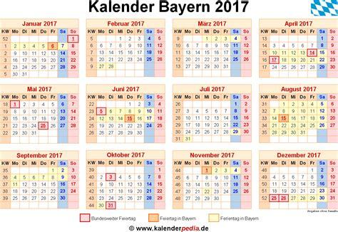 Kalender 2021 Bayern Kalender 2017 Bayern Ferien Feiertage Pdf Vorlagen