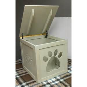 Litter Box Cover Cat House Paw Door Litter Box Cover Or Cat House